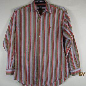VTG Ralph Lauren Blake Mens Shirt M Long Sleeve